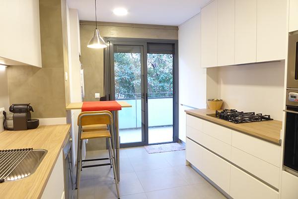 Obra en interior de vivienda en Hospitalet de Llobregat