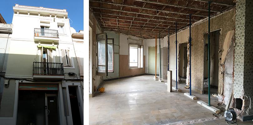 Obras en las que ha sido necesario un permiso de obras menores Inmediata en Barcelona